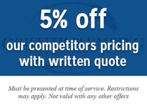 5% off our competitors pricing with written quote