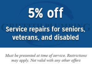 5% Discount – Senior, veterans, and disabled